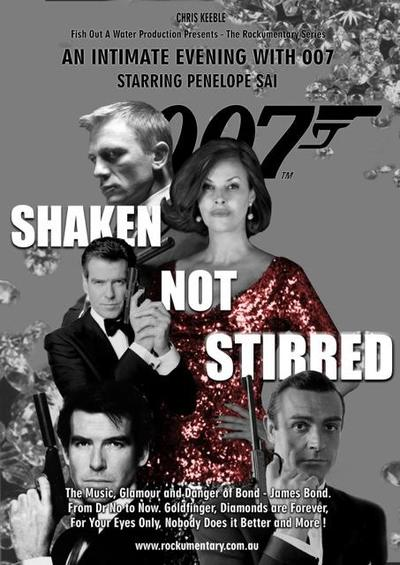 James Bond 007 Concert 'Shaken Not Stirred'